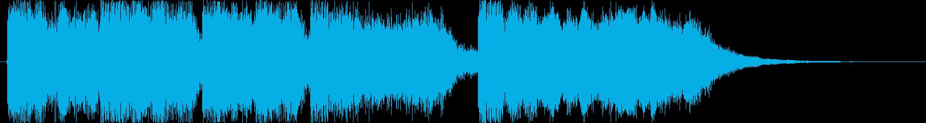 ファンファーレ 優勝 祝福 城の再生済みの波形