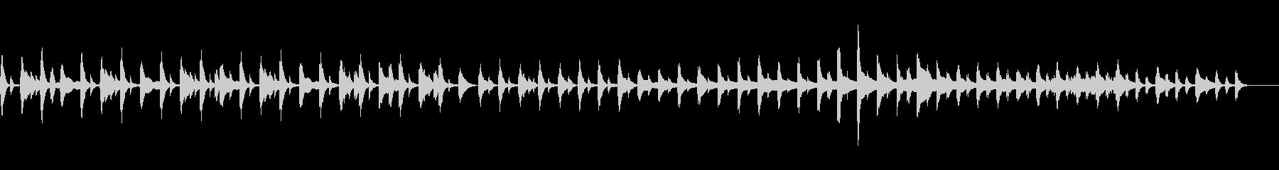 時の思い出をイメージしたハープ曲。の未再生の波形