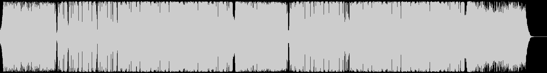 ポップでポジティブなEDMハウスの未再生の波形