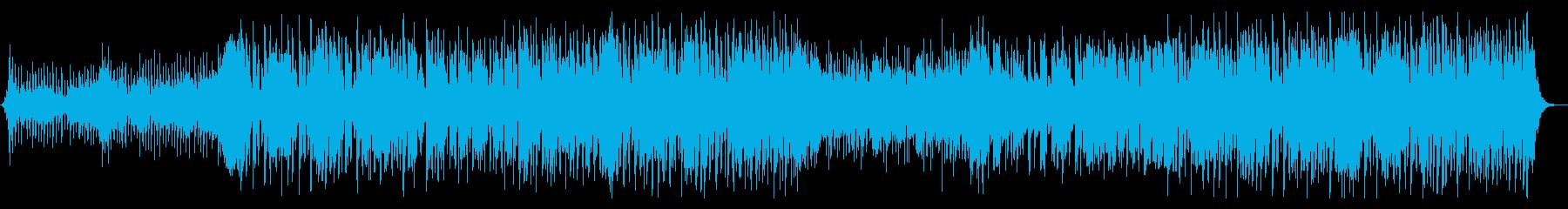 篠笛がカッコいい祭り囃子エレクトロニカの再生済みの波形