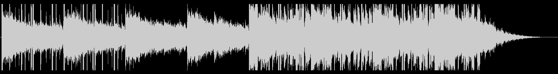 雨/ほのぼの/R&B_No381_2の未再生の波形