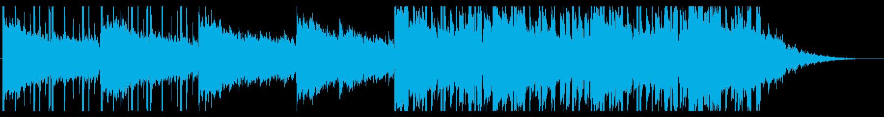雨/ほのぼの/R&B_No381_2の再生済みの波形