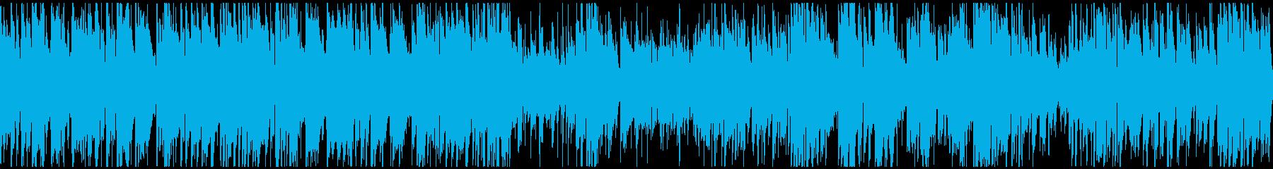 50年代風のジャズブルース ※ループ版の再生済みの波形