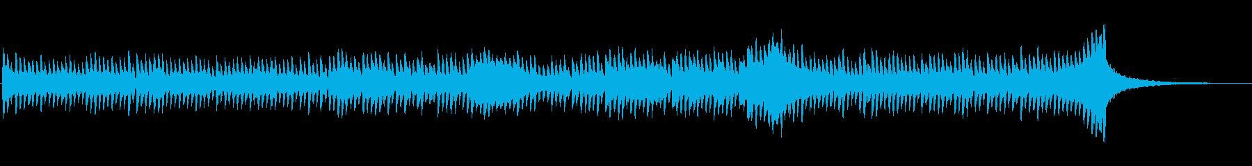 シーケンス 撥ベース01の再生済みの波形