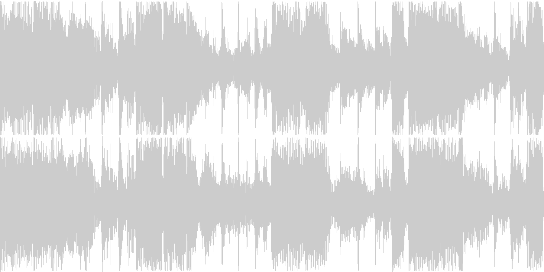 アコースティックギターとフレットレ...の未再生の波形