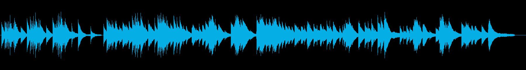 春の縁側 ピアノソロの再生済みの波形