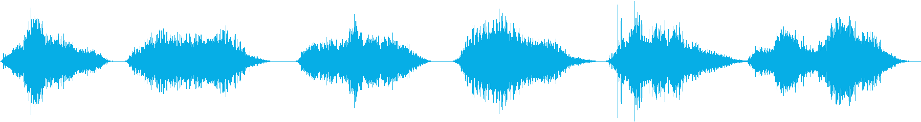 ガーリングブレスクリーチャーヒス&呼吸の再生済みの波形