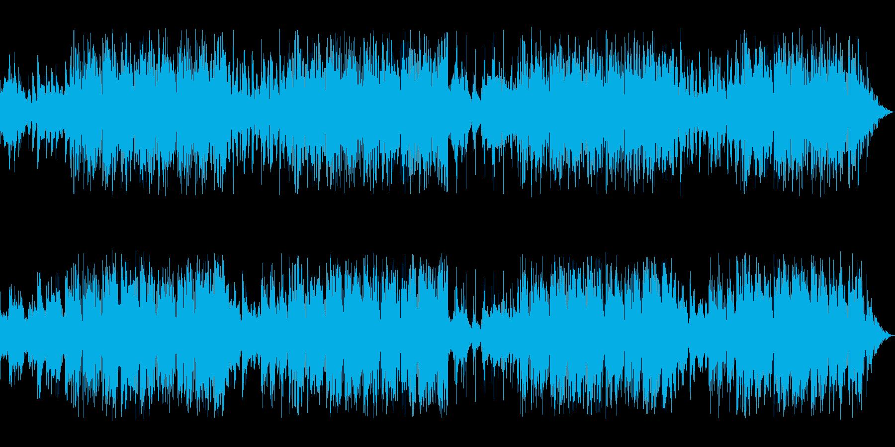 ギターとエレピアノの軽快・爽快な曲です。の再生済みの波形