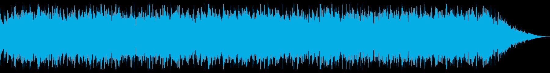 軽快で楽しげなアイリッシュジグの再生済みの波形