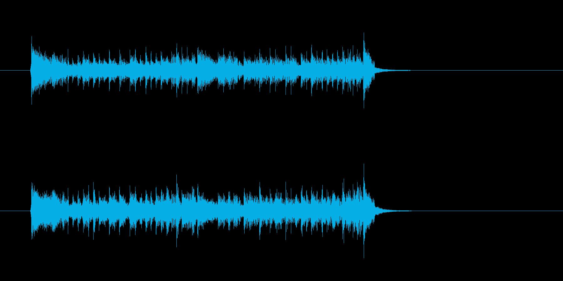 クール ベース シンセサイザーの再生済みの波形
