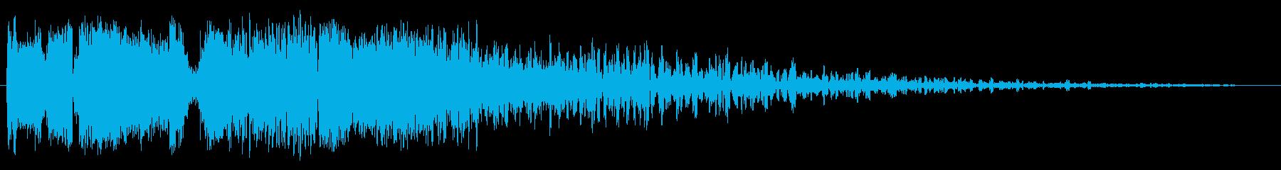 プロモーションオープン1の再生済みの波形