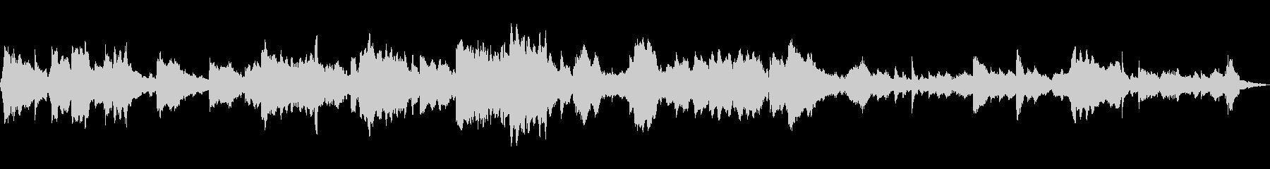 不思議な森にいるようなフルートのループ曲の未再生の波形