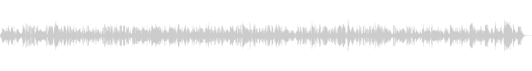 穏やかで陽気なジャズBGM|映像・配信の未再生の波形