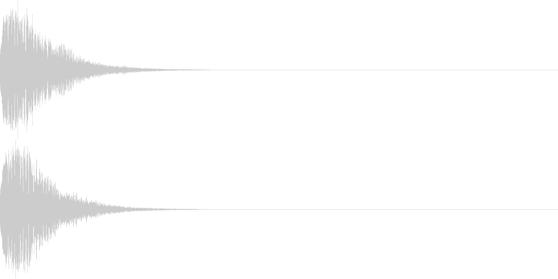 光る キュイーン ピカーン キラン 13の未再生の波形