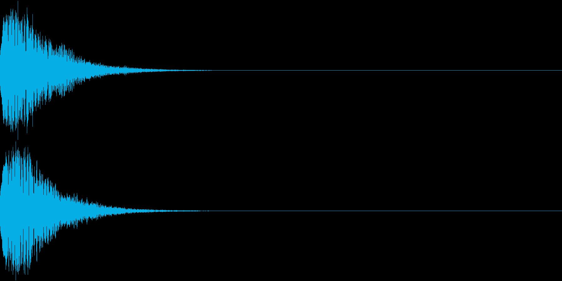 光る キュイーン ピカーン キラン 13の再生済みの波形