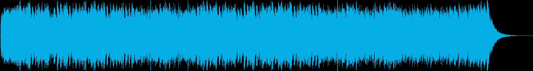 壮大で迫力あるフルオーケストラBGMの再生済みの波形