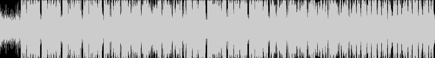明るく活気のあるケルト音楽の未再生の波形