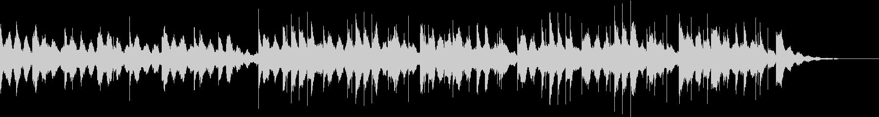 ショートサイズのラブレターBGMの未再生の波形