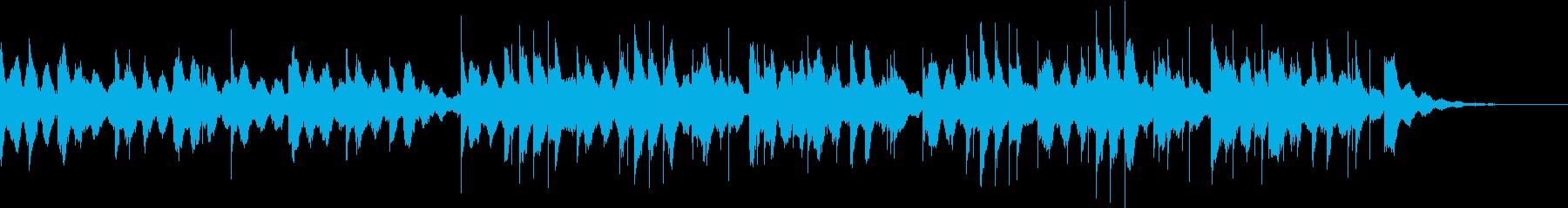 ショートサイズのラブレターBGMの再生済みの波形