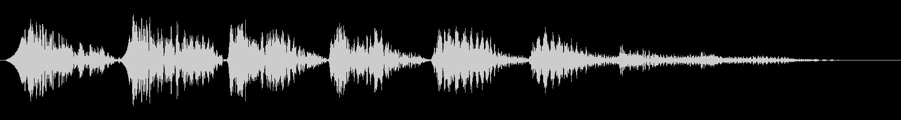 バネ系ピョンピョン…高音への未再生の波形
