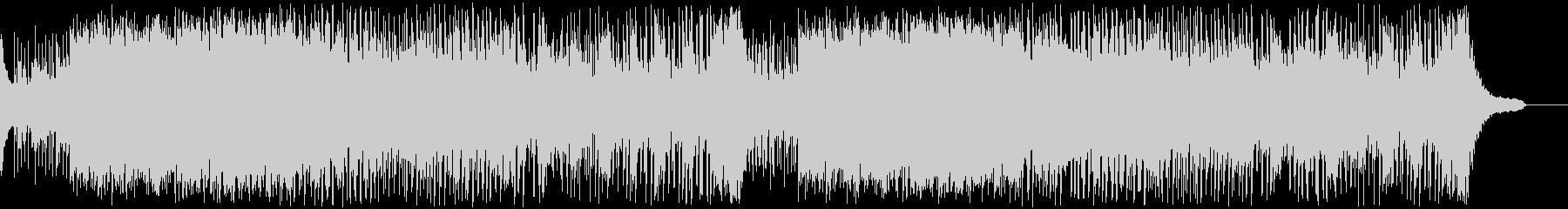 ドラキュラ退治の曲の未再生の波形