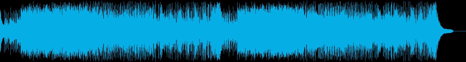 ドラキュラ退治の曲の再生済みの波形