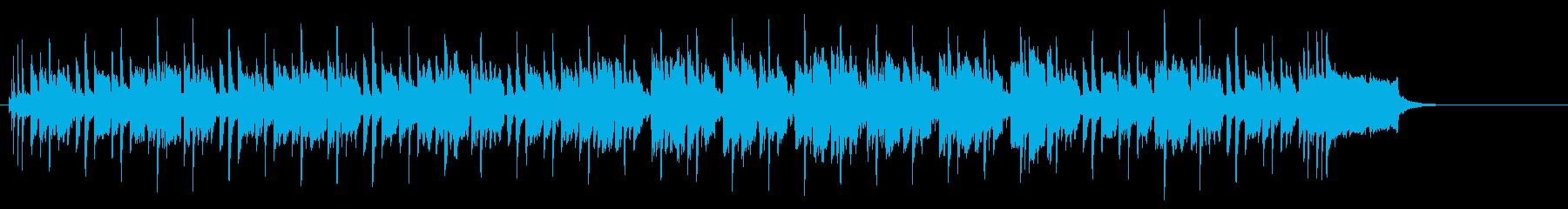 おだやかに揺れるポップなレゲエの再生済みの波形