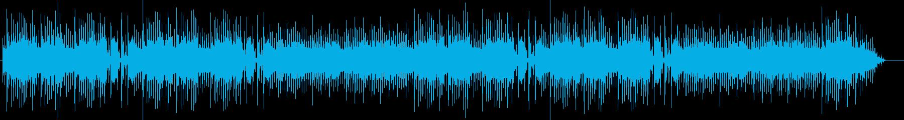 昔のアーケードゲーム風のブギウギ調ループの再生済みの波形