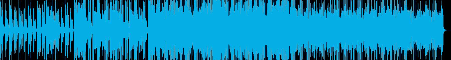 ダークなグリッチトラップの再生済みの波形
