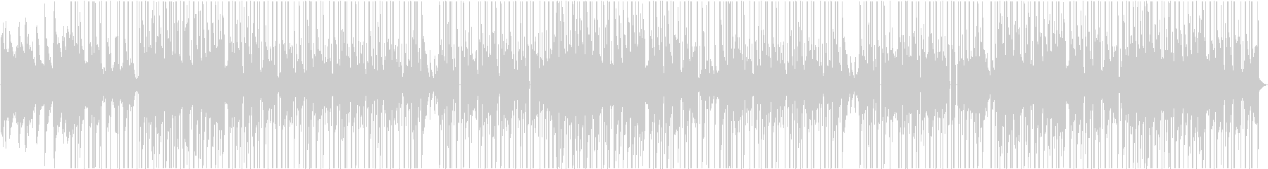 ピアノ&女性声素材が特徴のチルなビートの未再生の波形