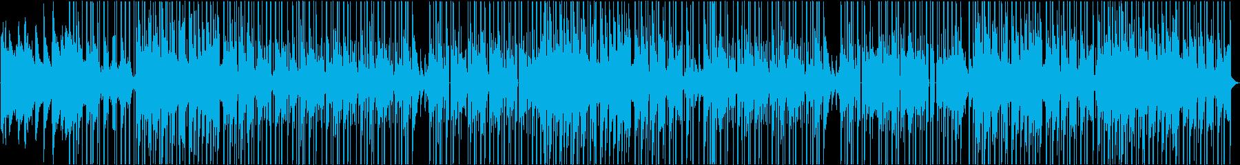 ピアノ&女性声素材が特徴のチルなビートの再生済みの波形