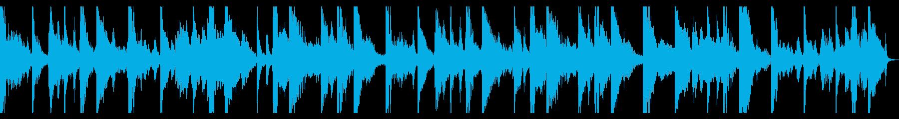 軽快なノリのロックにブルージーなギターの再生済みの波形