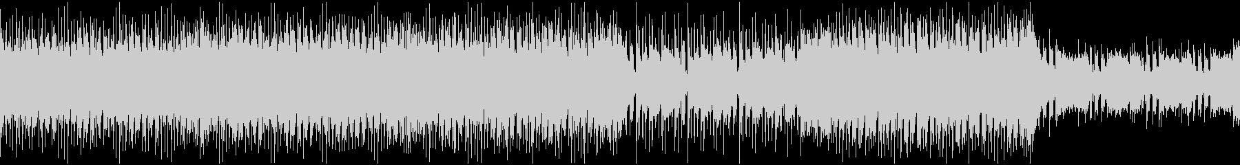 シンプルなハウス系ループの未再生の波形