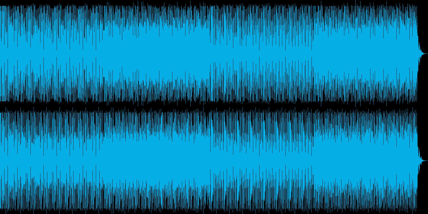 夜景/都会/エレクトロ_No667_1の再生済みの波形