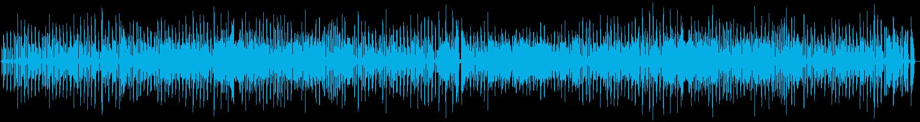 ウキウキで楽しげな口笛とウクレレのBGMの再生済みの波形