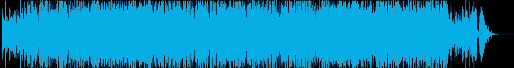 感動系アコースティック楽曲の再生済みの波形