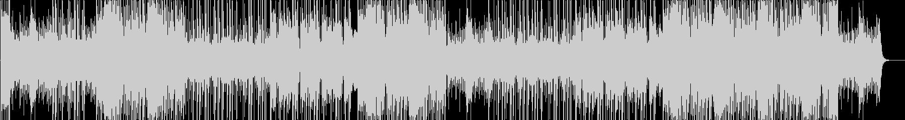 ディレイギターのシリアスなTRAPの未再生の波形