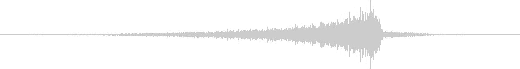 CINEMATIC REVERSE_02の未再生の波形