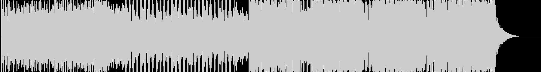 ギラギラ迫力あるベースハウスEDMの未再生の波形