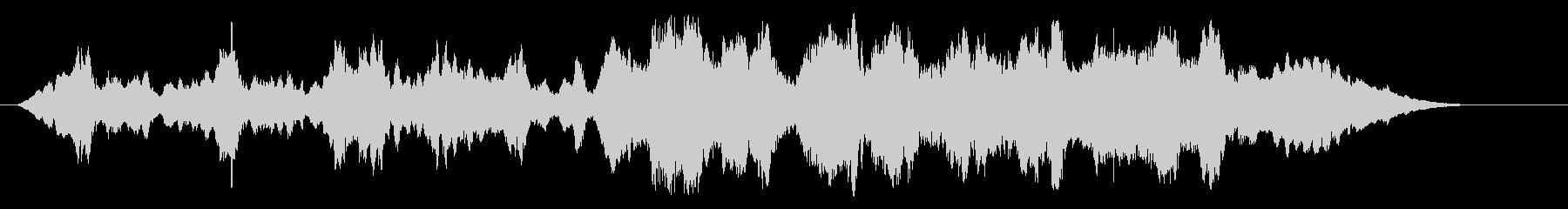 場面の移り変わりに、ストリングス曲です。の未再生の波形