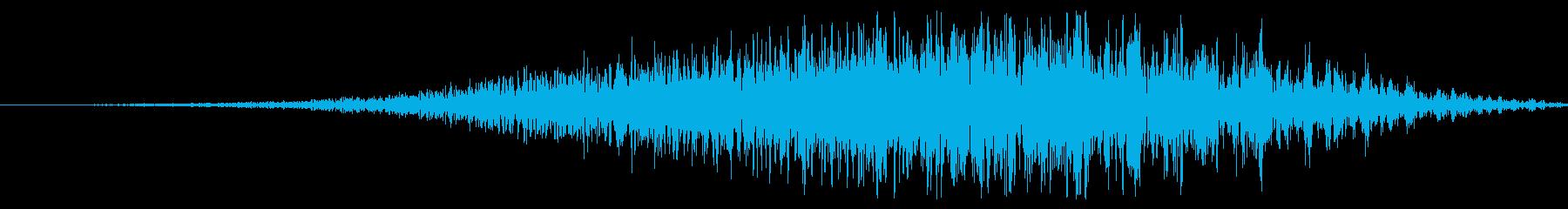 トンネルヒューシュラッシュの再生済みの波形