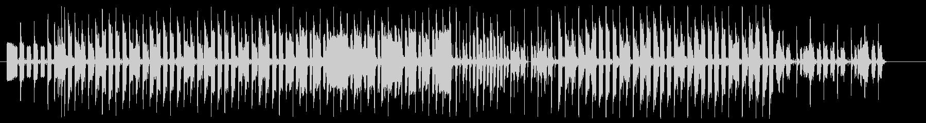 ハムスターをイメージしたペットのテーマの未再生の波形