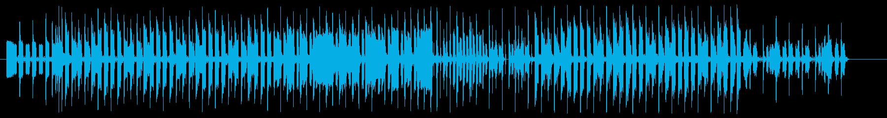 ハムスターをイメージしたペットのテーマの再生済みの波形