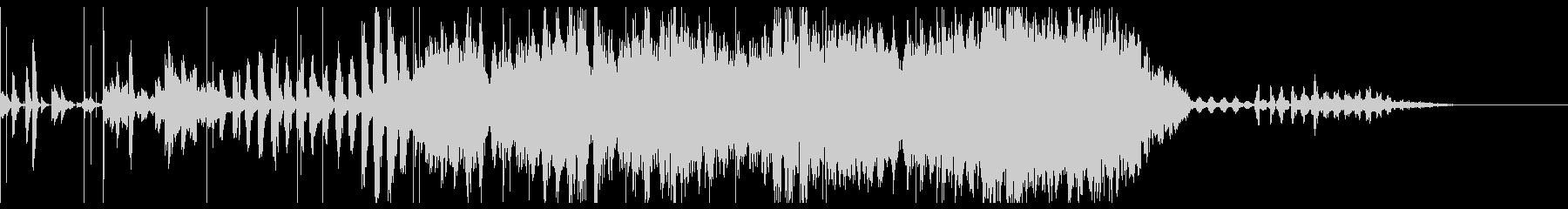 フーガの古典的な原理に基づいた合唱...の未再生の波形