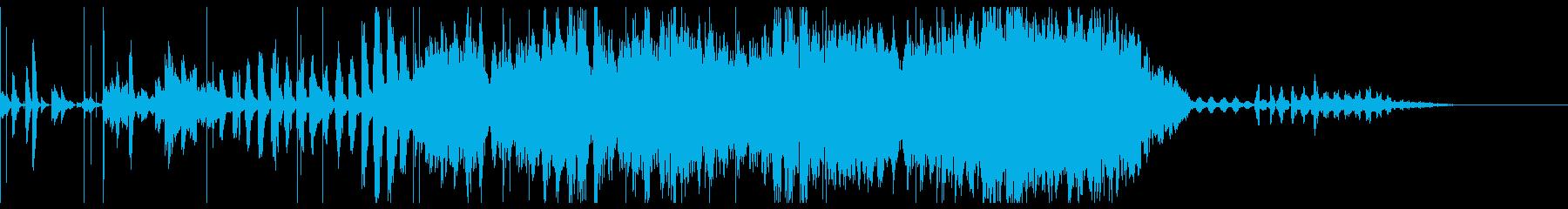 フーガの古典的な原理に基づいた合唱...の再生済みの波形