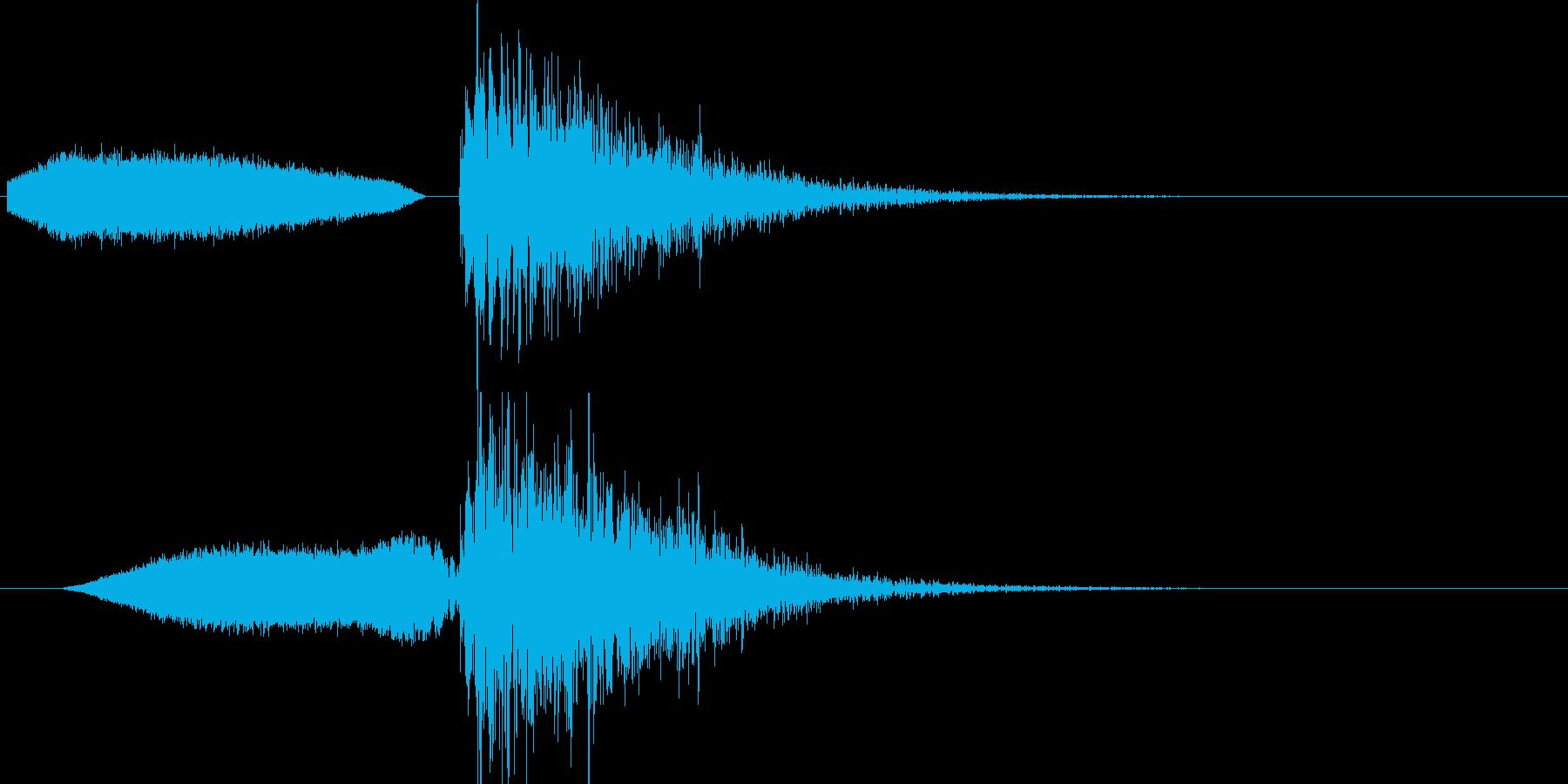 ビームなどを発射した時の効果音です。様…の再生済みの波形