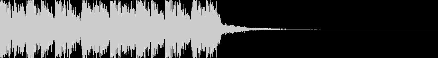 キャッチーオーケストラEDM7の未再生の波形