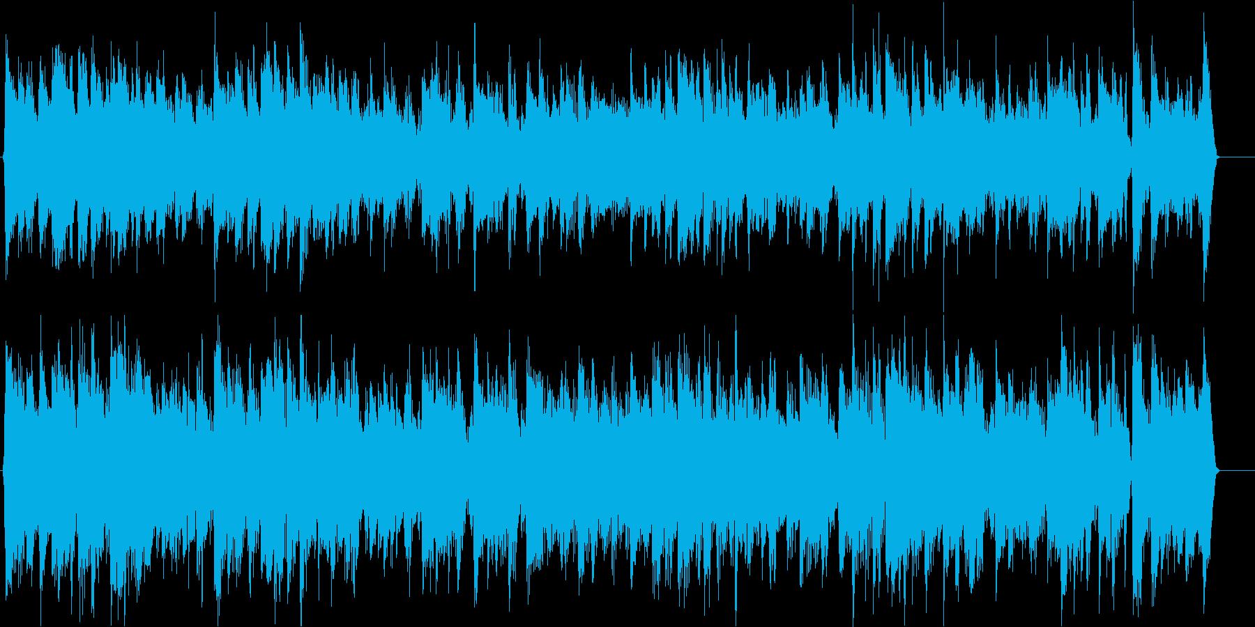 人気!アコースティックギターピアノ颯爽との再生済みの波形