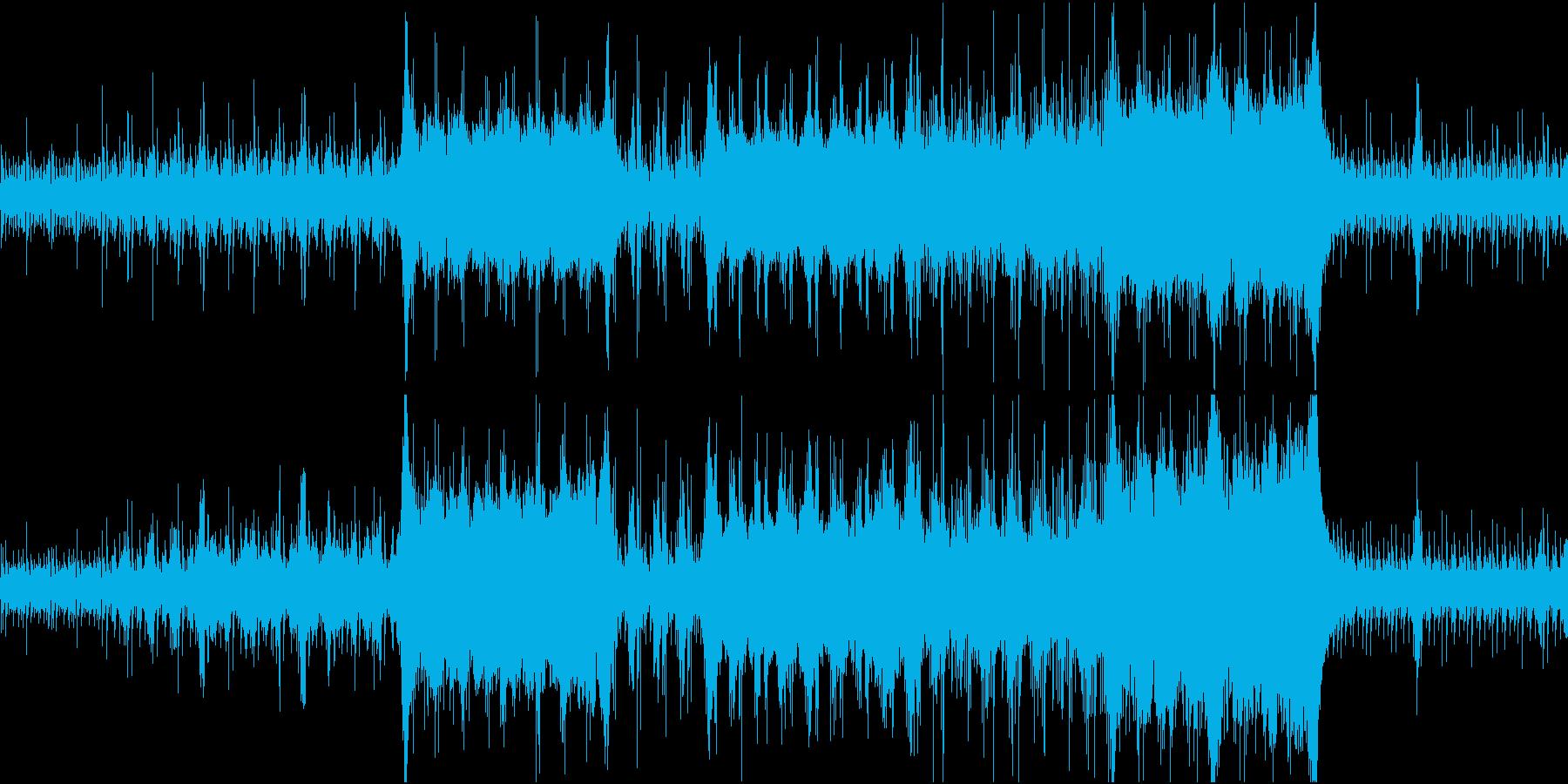 ゲーム的オーケストラ戦 明け方の港の再生済みの波形