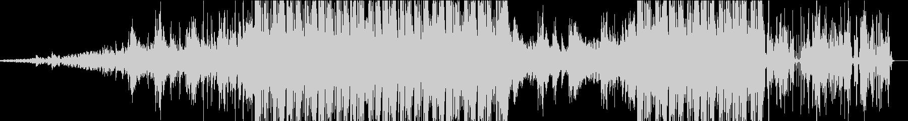 静と動のエレクトロの未再生の波形